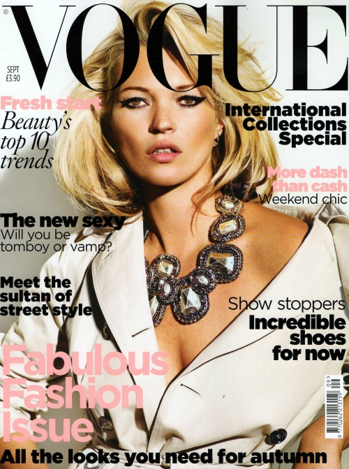 Kate Moss - UK Vogue September