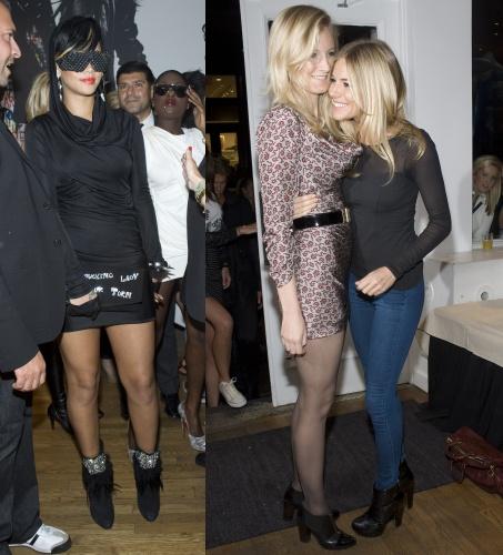 Rihanna / Sienna and Savannah Miller