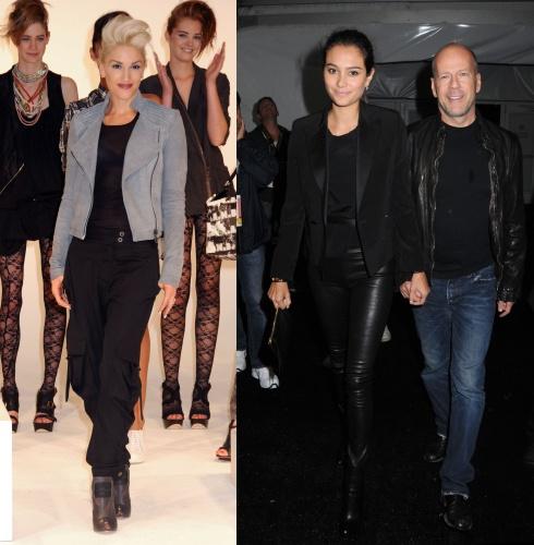 Gwen Stefani / Emma Heming & Bruce Willis