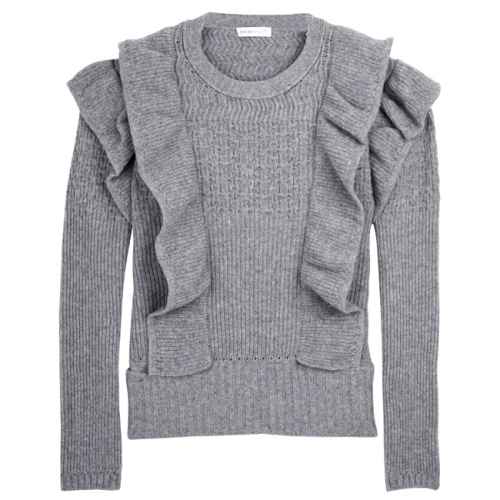 See by Chloé grey knitted jumper