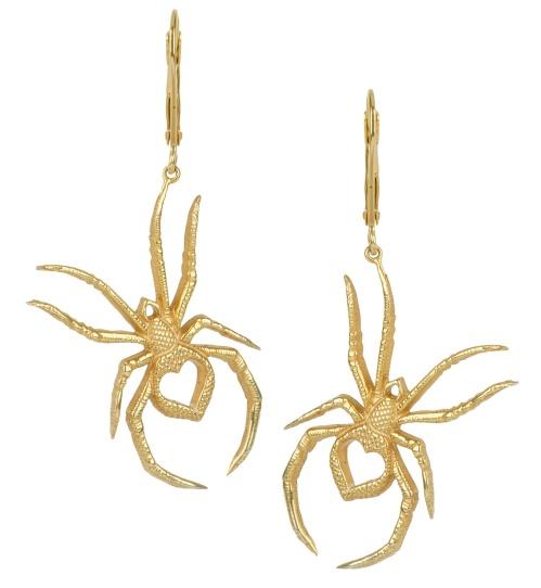 Zoe & Morgan gold Love Bite earrings