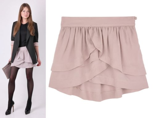 Click here to shop this By Zoe tiered skirt
