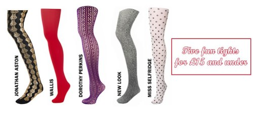 Five fun tights for £15 and under