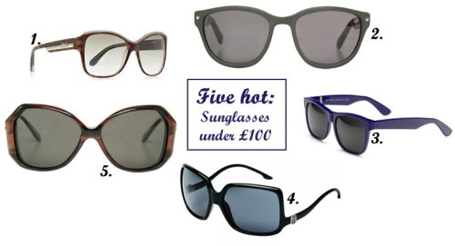 Five hot sunglasses for under £100