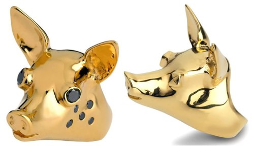 Click here to check out Francesca Sibylla's pig rings