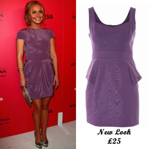Click here to shop for this violet dress from New Look, inspired by Hayden Panettiere's look