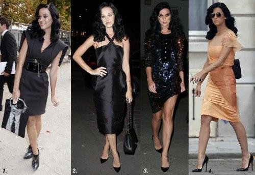 Katy Perry at Paris Fashion Week