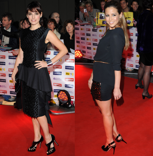 Kelly Brook & Rachel Stevens at 2009 Pride of Britain Awards