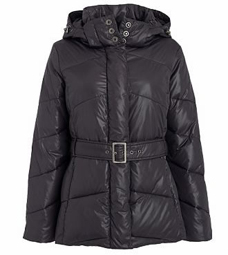 Click here to shop for Maine New England wet look padded coat