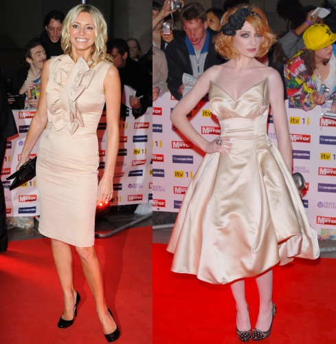 Tess Daly & Nicola Roberts at the 2009 Pride of Britain Awards
