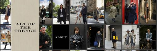 Burberry's new social networking site artofthetrench.com