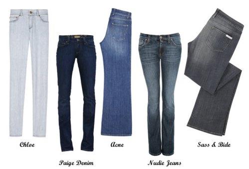 Five hot designer jeans for under £100