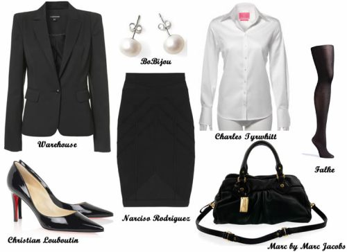 What to wear on a job interview... product details at bottom of page.